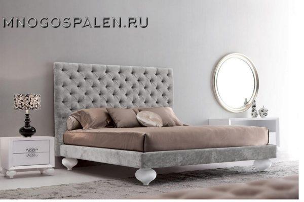 Кровать арт. FB.BD.PL.166 купить в салоне-студии мебели Барселона mnogospalen.ru много спален мебель Италии классические современные