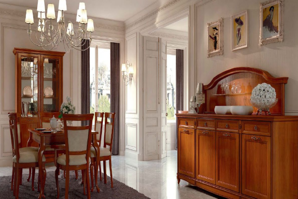 Гостиная Portofino купить в салоне-студии мебели Барселона mnogospalen.ru много спален мебель Италии классические современные