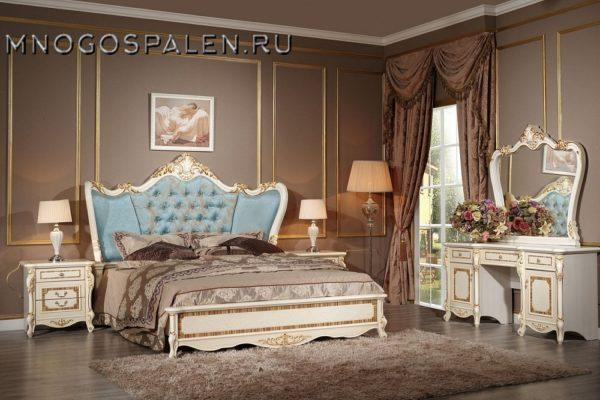 Спальня Praga купить в салоне-студии мебели Барселона mnogospalen.ru много спален мебель Италии классические современные