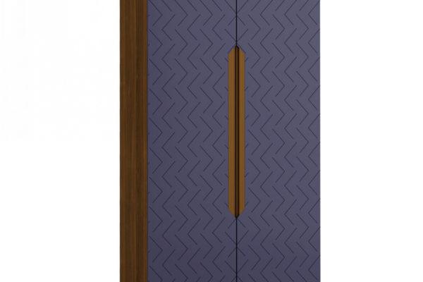 Шкаф 2-х створчатый Сканди Сапфир купить в салоне-студии мебели Барселона mnogospalen.ru много спален мебель Италии классические современные