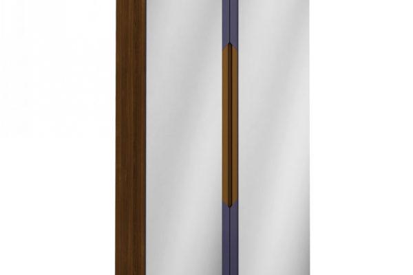 Шкаф 2-х створчатый с зеркалами Сканди Сапфир купить в салоне-студии мебели Барселона mnogospalen.ru много спален мебель Италии классические современные