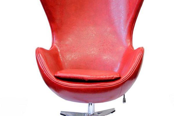 Кресло «EGG CHAIR» красный/глянец купить в салоне-студии мебели Барселона mnogospalen.ru много спален мебель Италии классические современные