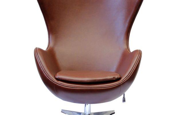 Кресло EGG CHAIR коричневый/матовый купить в салоне-студии мебели Барселона mnogospalen.ru много спален мебель Италии классические современные
