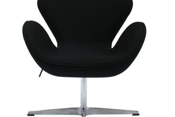 Кресло SWAN CHAIR чёрный купить в салоне-студии мебели Барселона mnogospalen.ru много спален мебель Италии классические современные