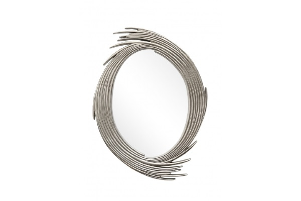 Зеркало Evelina A88065-1 античное серебро купить в салоне-студии мебели Барселона mnogospalen.ru много спален мебель Италии классические современные