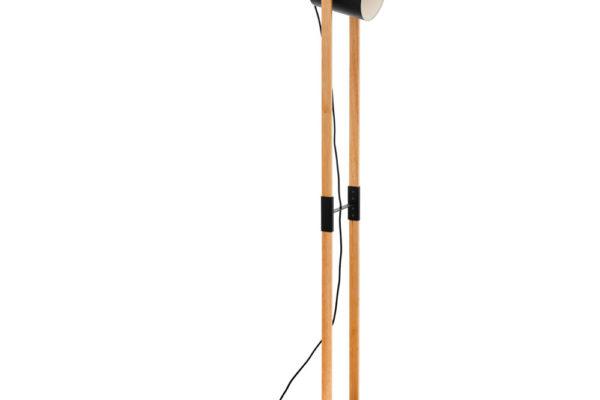 43048 Торшер HORNWOOD с ножн. выкл., 1х28W (E27), L230, B230, основа ?230, H1400, сталь, черный, кре купить в салоне-студии мебели Барселона mnogospalen.ru много спален мебель Италии классические современные