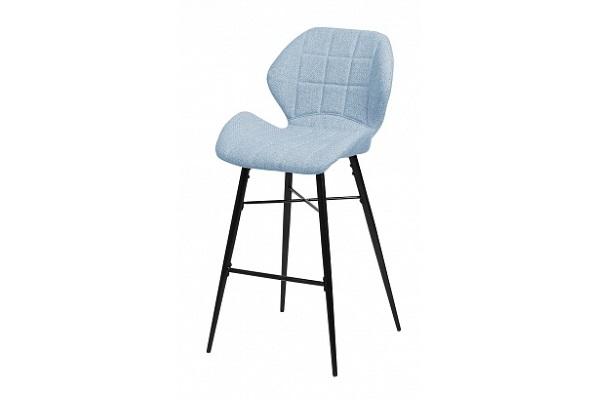 Барный стул MARCEL TRF-10 небесно-голубой, ткань М-City купить в салоне-студии мебели Барселона mnogospalen.ru много спален мебель Италии классические современные
