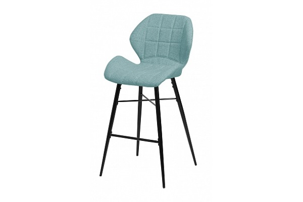 Барный стул MARCEL TRF-07 морская волна, ткань М-City купить в салоне-студии мебели Барселона mnogospalen.ru много спален мебель Италии классические современные