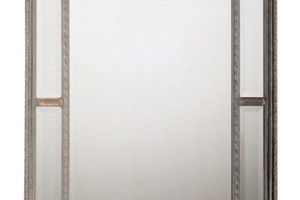 """Зеркало в раме """"Гарри"""" Silver LouvreHome купить в салоне-студии мебели Барселона mnogospalen.ru много спален мебель Италии классические современные"""